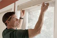 монтаж жалюзи на окна